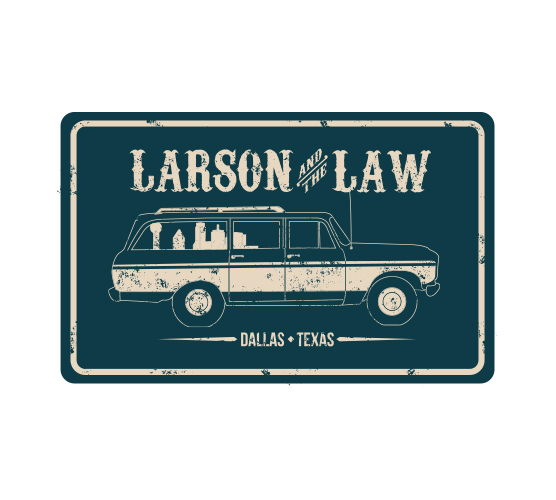 larson law sticker